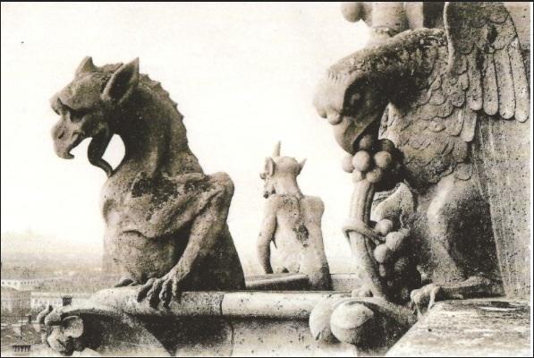 Chimères de Notre Dame de Paris