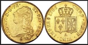 Des pièces d'or. Pour avoir de la chance il faut faire sauter les crêpes avec deux pièces d'or dans la main droite