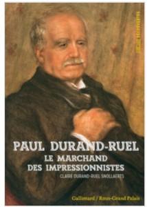 Paur Durand-Ruel est un marchand de tableau qui a sauvé les impressionistes. Il a lutté pour eux, a été sur le bord de la faillite. Sans Durand-Ruel il n'y aurait pas eu d'impressionistes. (ISBN 9782070146949, 48 pages) Picasso rêve d'être aidé par lui.
