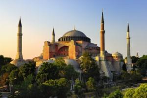 Mosquée de Sainte-Sophie à Istanbul
