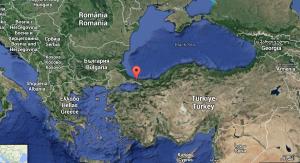 Vu aérienne: Istanbul, l' ancienne Constantinople, aujourd'hui en Turquie.